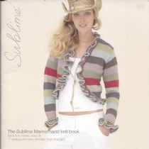 602 - The Sublime Merino hand knit book